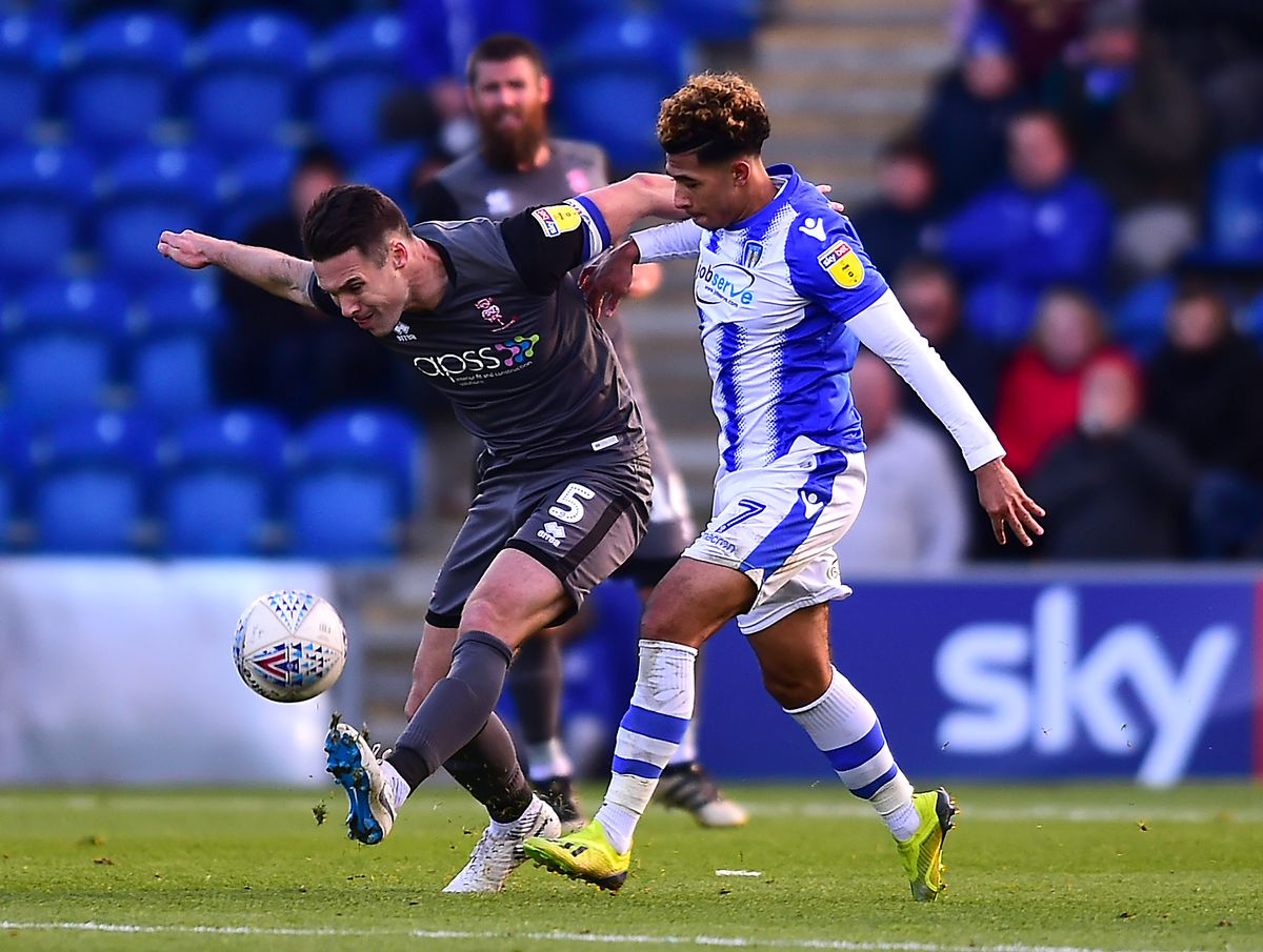 Colchester United v Lincoln City - Sky Bet League Two