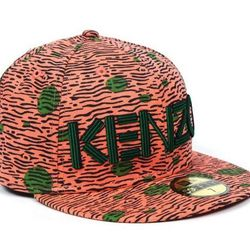 """<b>Kenzo x New Era</b> Fitted Hat in red/green, <a href=""""http://www.openingceremony.us/products.asp?menuid=2&catid=14&designerid=1335&productid=77118"""">$60</a> at Opening Ceremony"""