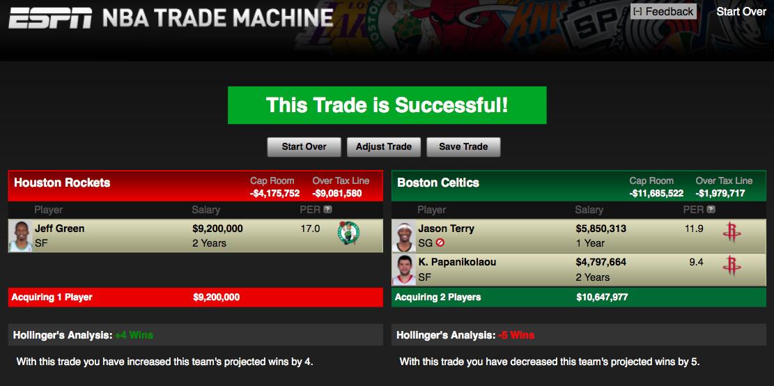 Trade #4