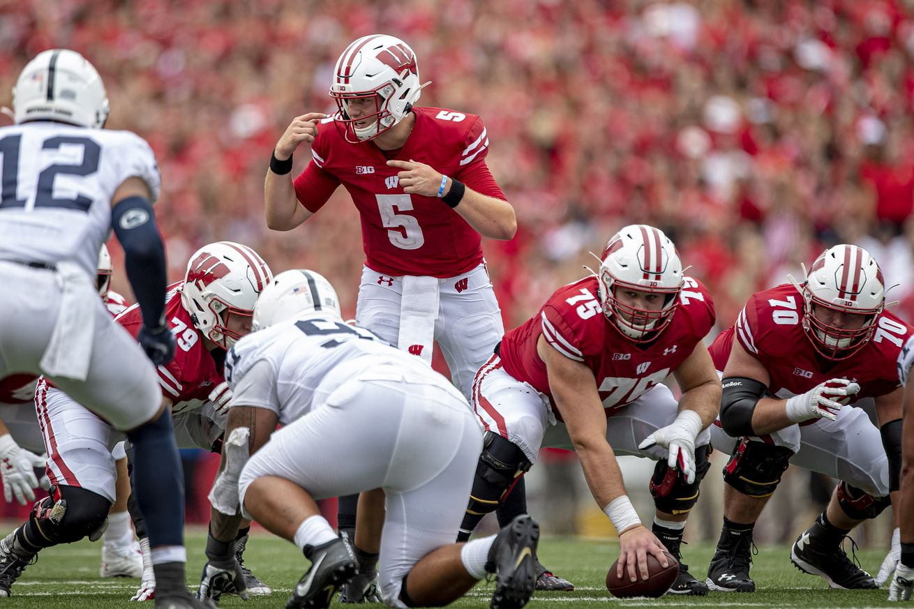 COLLEGE FOOTBALL: SEP 04 Penn State at Wisconsin