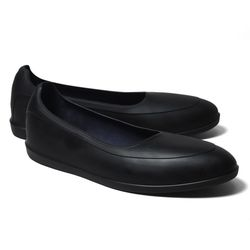 """<strong>SWIMS</strong> Galoshes in Black,<a href=""""http://www.brooksbrothers.com/SWIMS-Brand-Galoshes/634H________BLCK_MED______,default,pd.html?cmp=bac_google_display_P_P_M_Mens_PLA&gclid=COvX1bqUpLsCFSUOOgodjkgANw """">$98</a> at Brooks Brothers"""