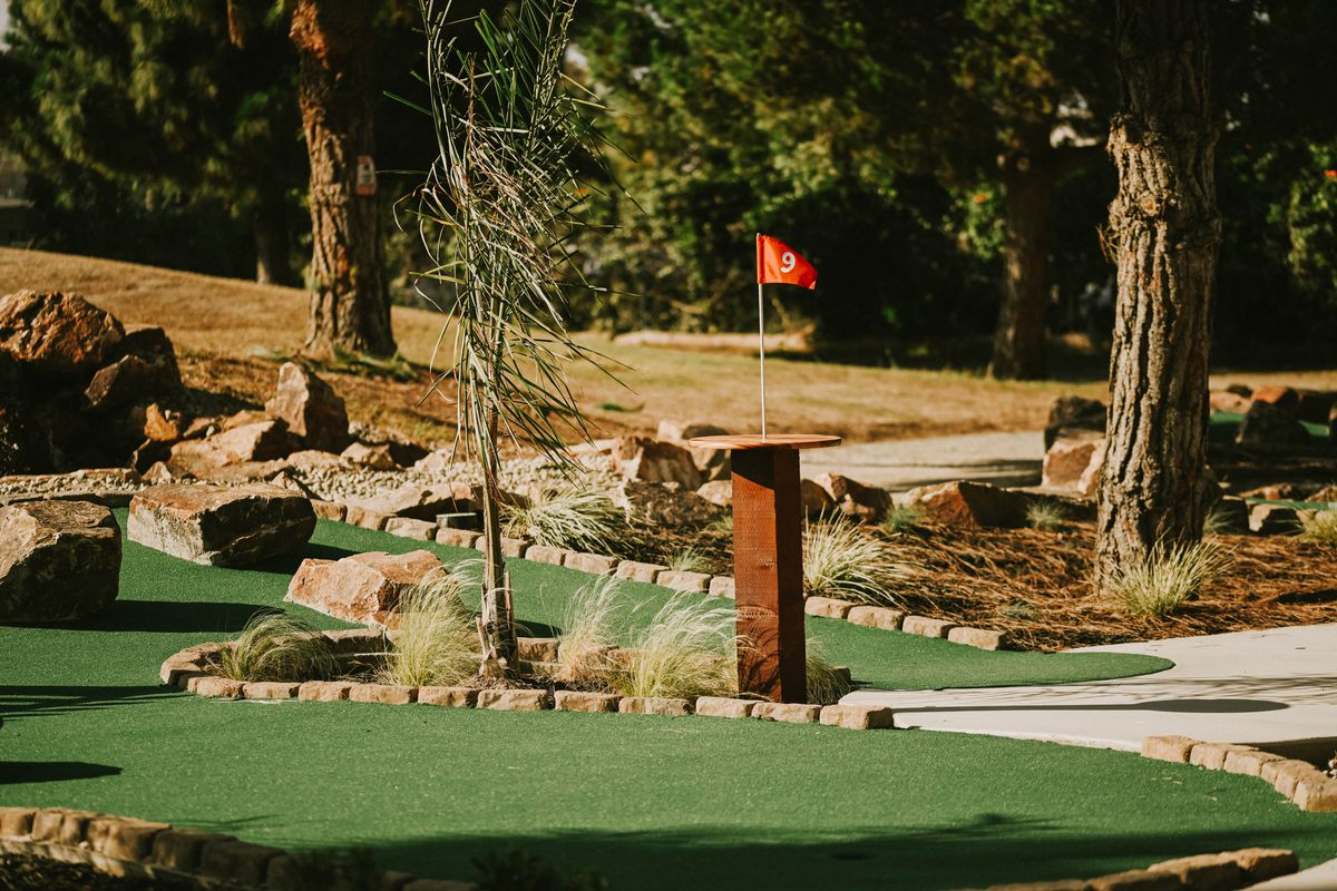 Hole 9 at Tappers Mini Golf