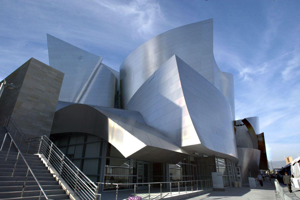 Disney Concert Hall Exterior