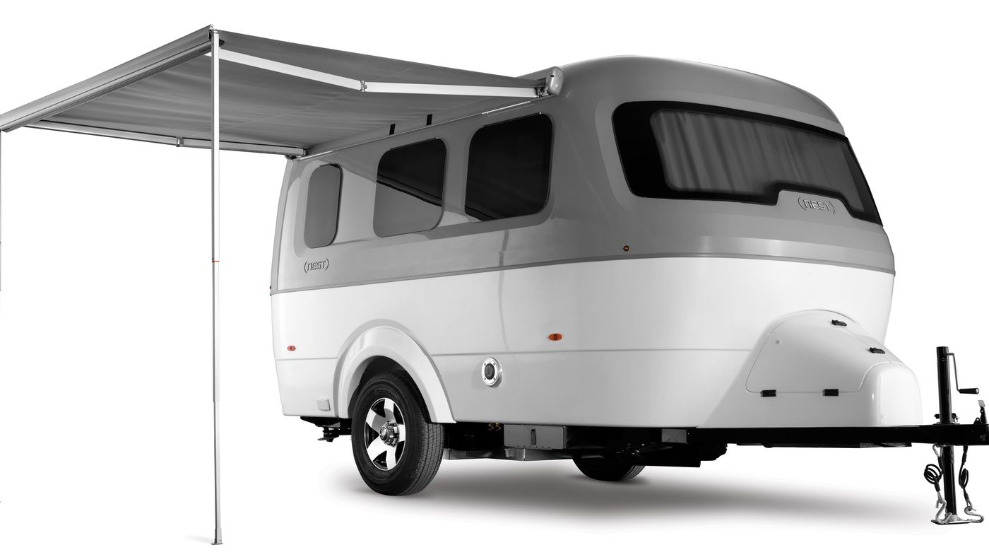 Airstream's new trailer, Nest, offers compact luxury for $45K - Curbed