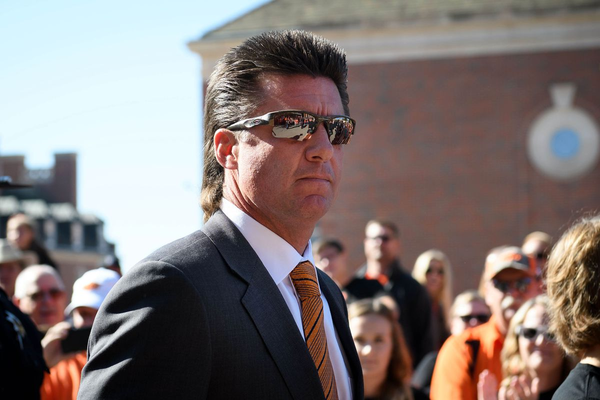 Mike Gundy S Son Was So Close To Making His Dad Shave His Awesome Mullet Sbnation Com