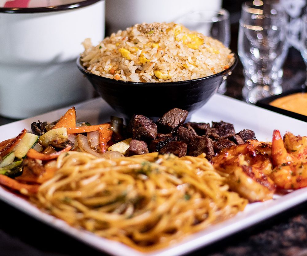 Fried rice available for take out at Sapporo Japanese Steakhouse & Revolving Sushi in Centennial.