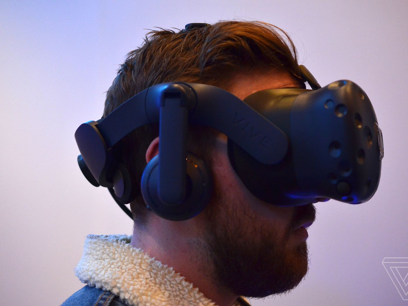 caa4e77199 A closer look at HTC s new higher-resolution Vive Pro - The Verge