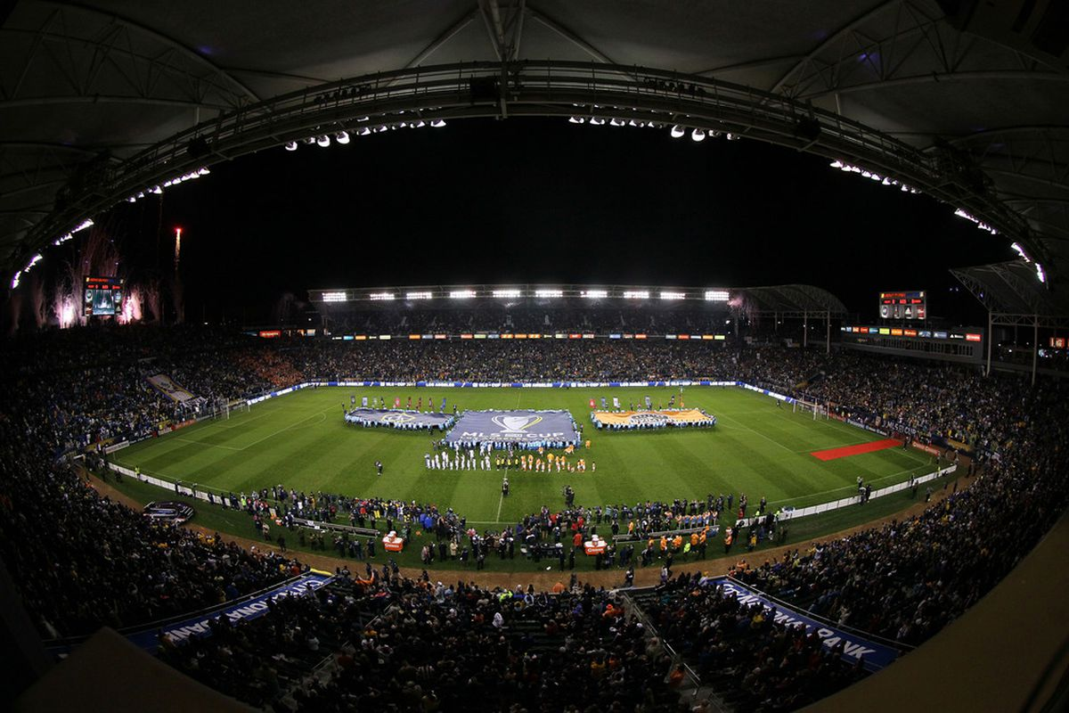 The Home Depot Center will not be anywhere close to this packed tomorrow night. And although it sucks for MLS, it's great news for TFC