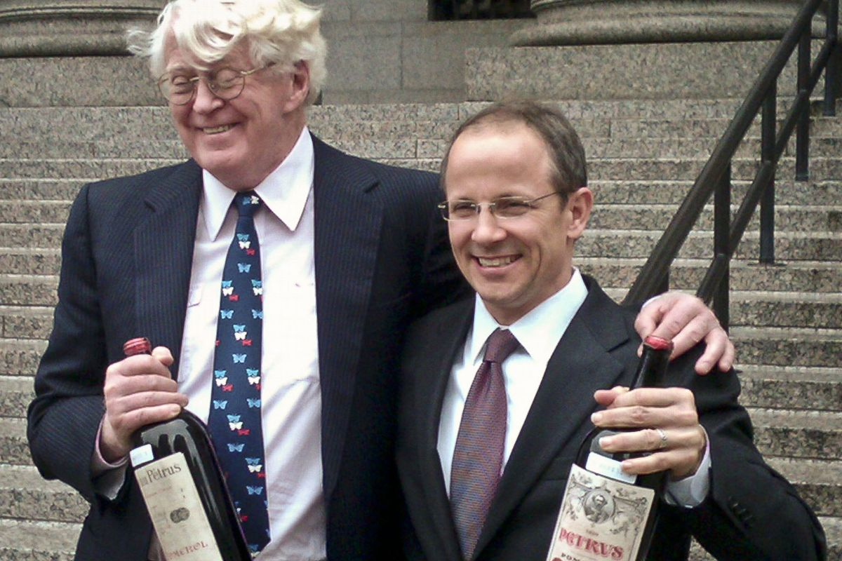 William Koch, left, and his attorney