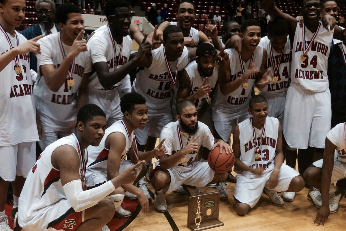 Eastmoor took home a district title with a 44-39 win over Bloom-Carroll on Friday