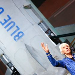 """Wally Funk recalls her flight to space: """"We went right on up, and I saw darkness. I thought I was gonna see the world, but we weren't quite high enough, and I felt great."""""""