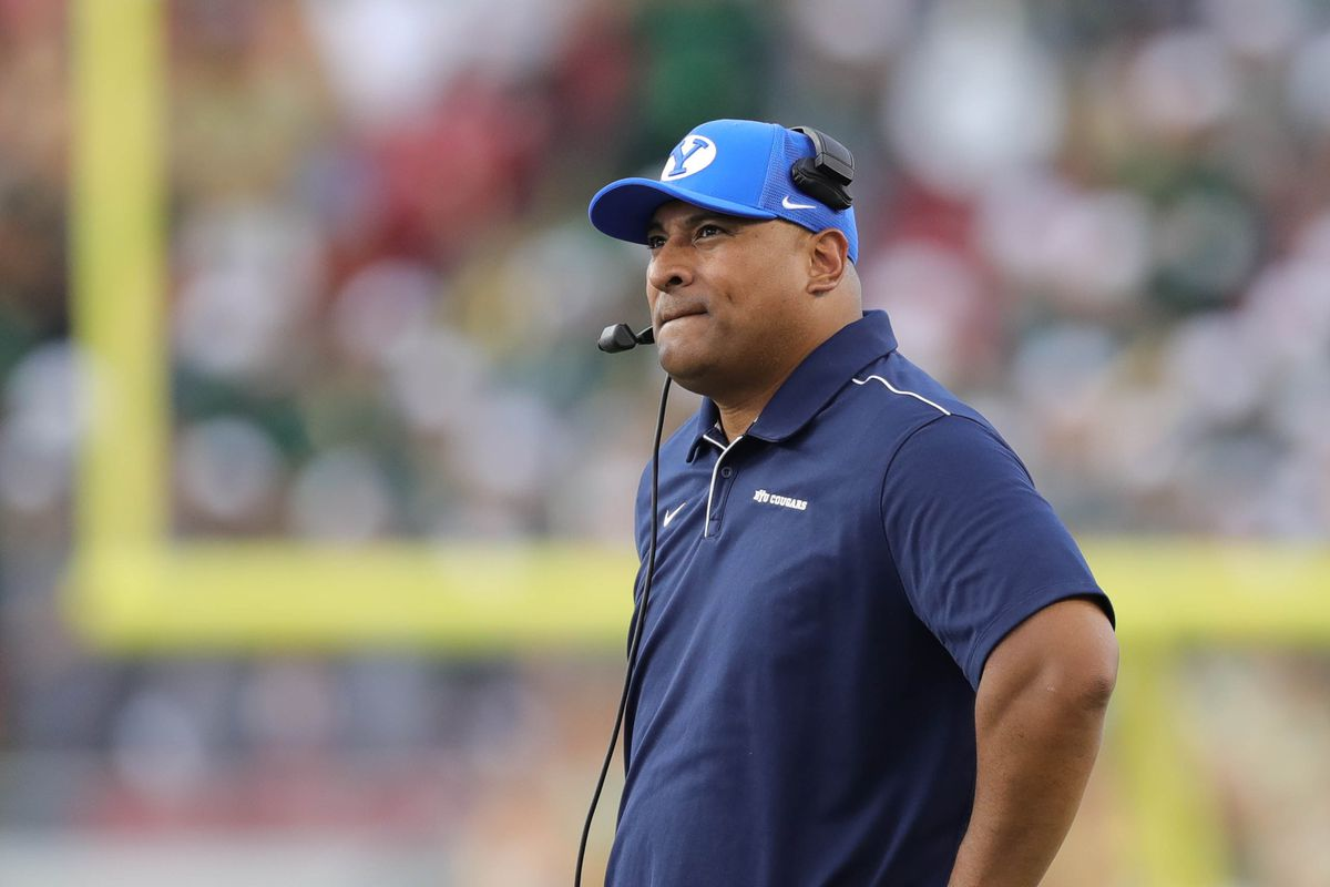 National writer weighs in on BYU head coach Kalani Sitake's job security and 'an existential identity crisis'…