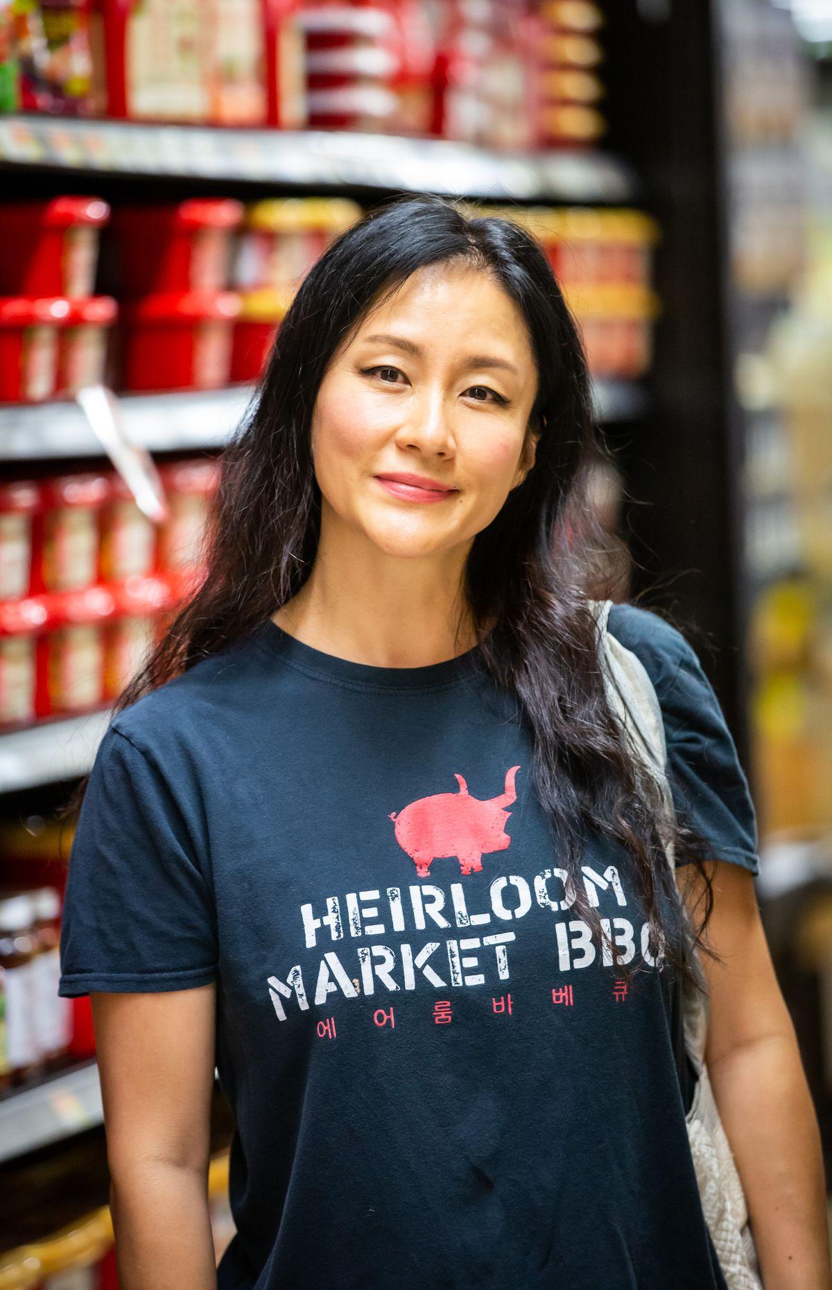 Chef Jiyeon Lee, Heirloom Market BBQ