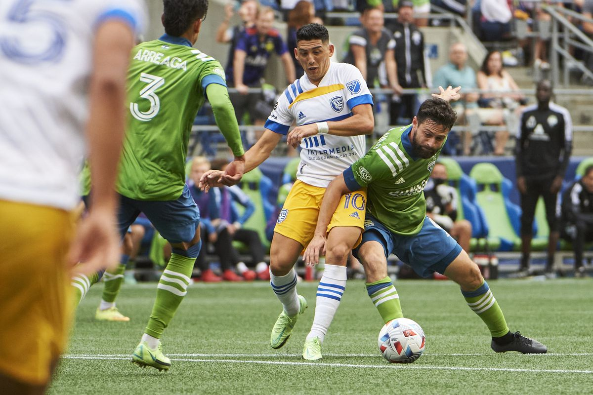 MLS: San Jose Earthquakes at Seattle Sounders FC