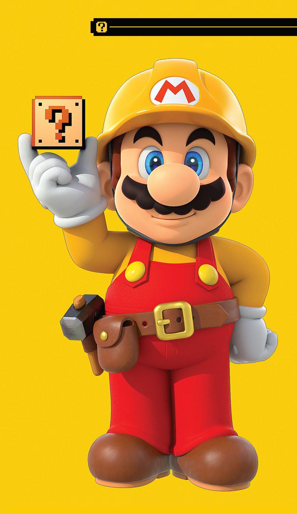 Mario Maker art