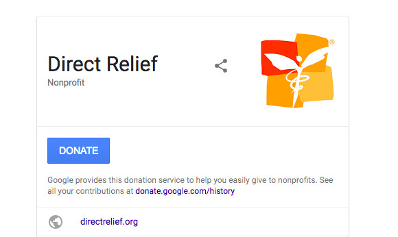 Google Adds A Donate Button To Search Results For Giving