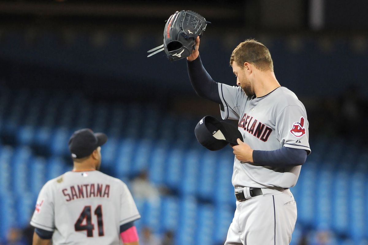 Corey Kluber had one of the slowest paces of any starter in baseball last season.