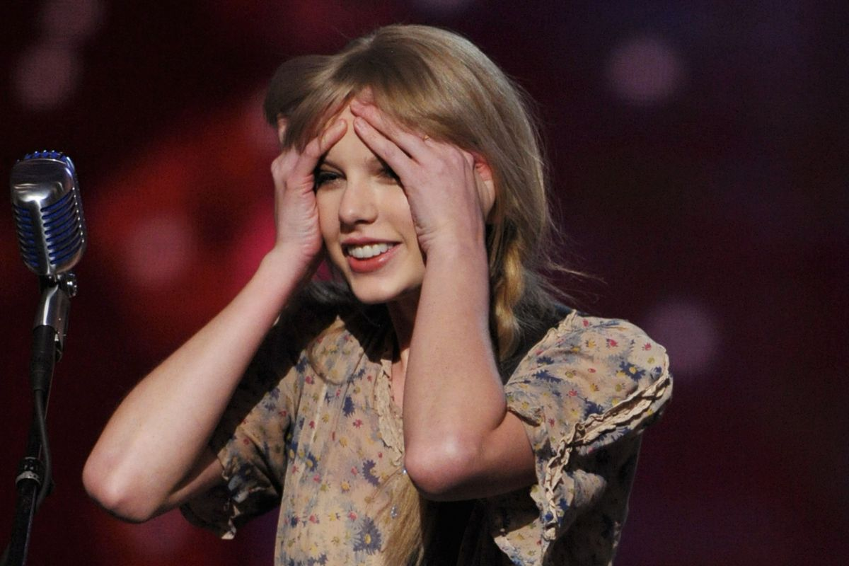 Taylor Swift so surprised