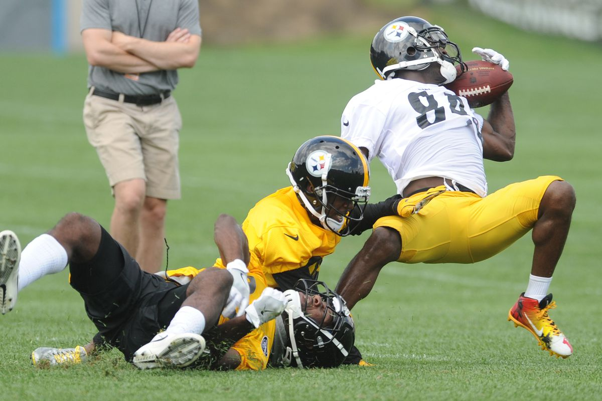Watch some highlights from the first week of Steelers training camp ... 72ff4105d