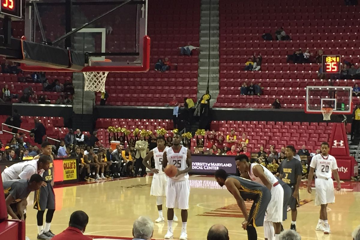 Jon Graham made 6 of 9 free throw attempts in a Maryland win.