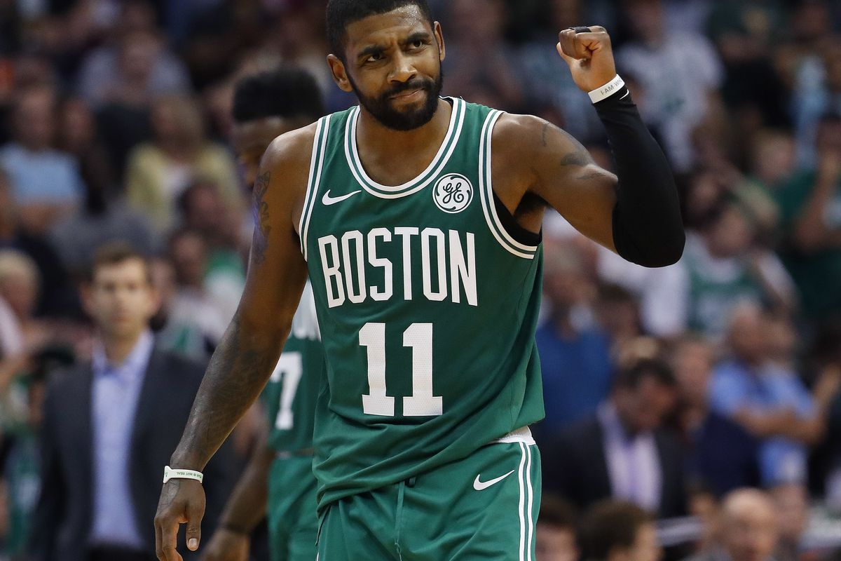 the best attitude a0a86 219aa No Kyrie Irving and the Boston Celtics can't overcome his ...