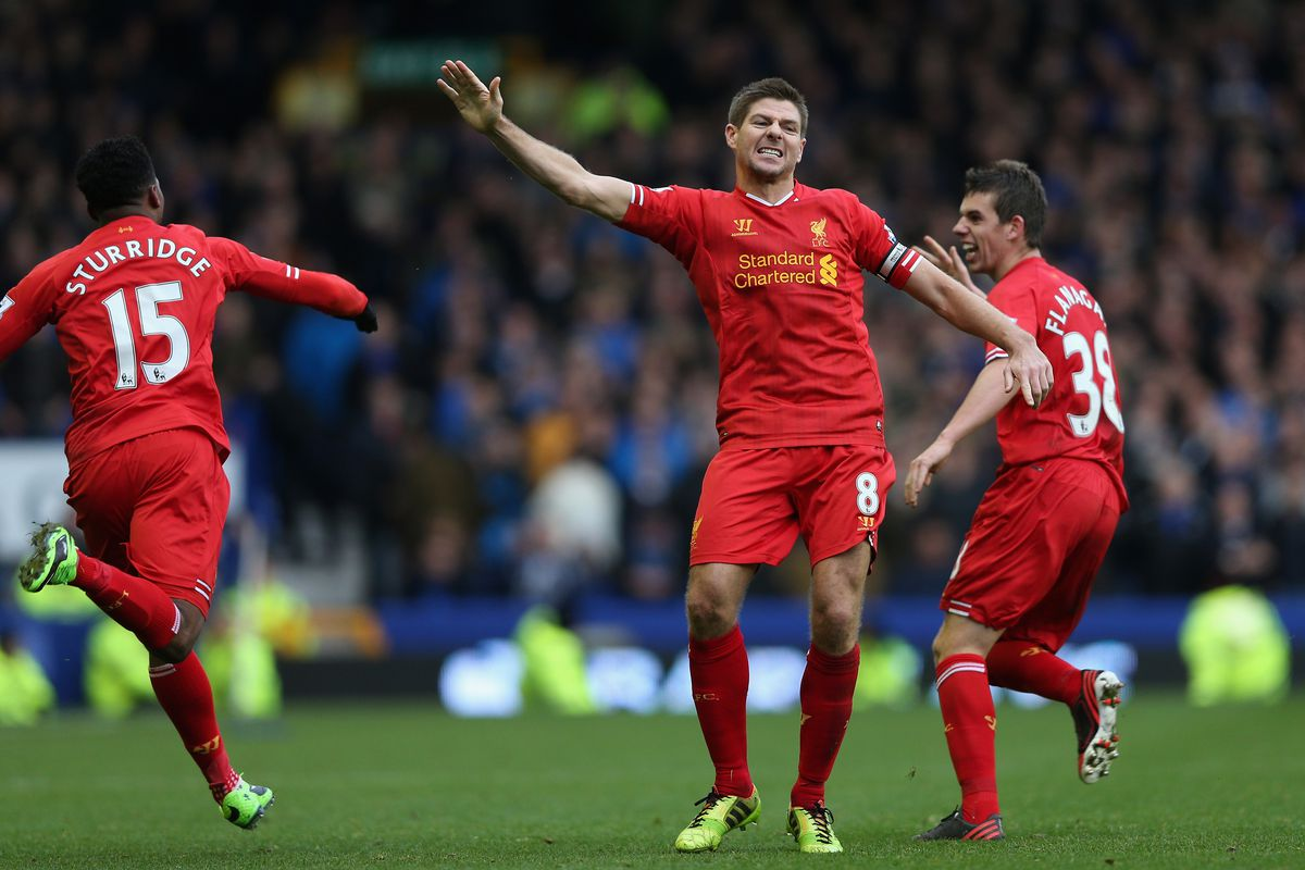 Stevie G busts a move with joy at playing Villa again