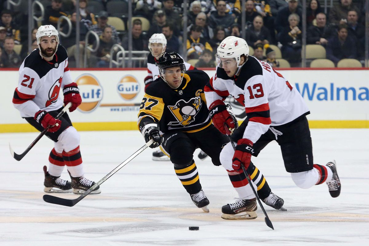 Pens Devils Recap  Sloppy Pittsburgh blown out by another last place team ec7220073