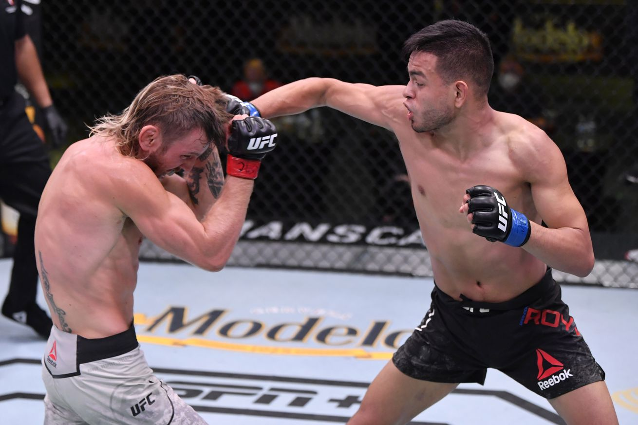 UFC Fight Night: Elliott v Royval