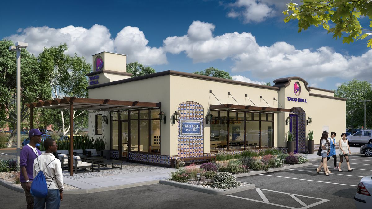 Taco Bell Banks On Upscale Decor With Four New Store Designs Eater