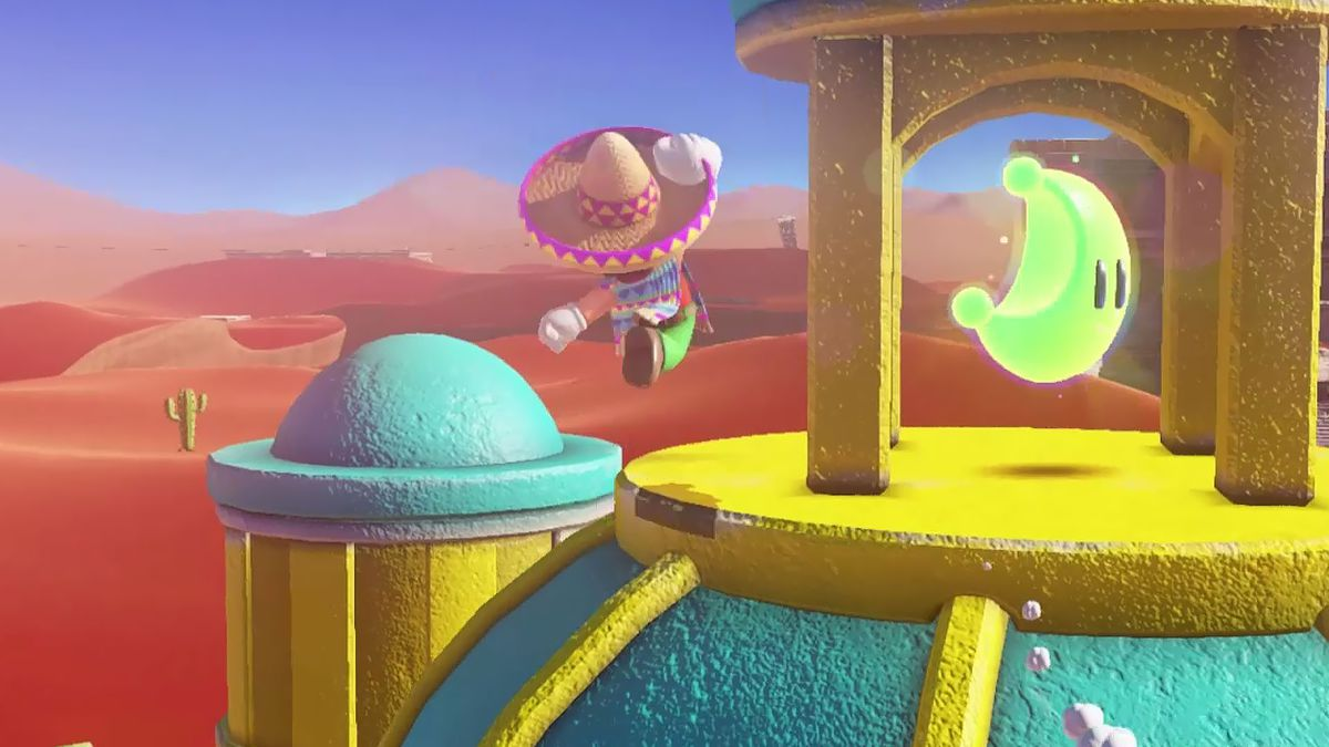 Super Mario Odyssey guide: Sand Kingdom all power moon