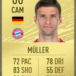 Thomas Müller in FIFA 2020