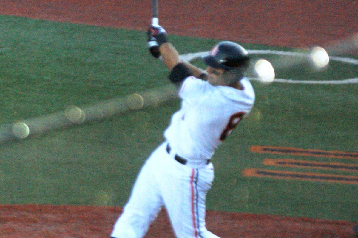 Michael Conforto has had at least 1 RBI in Oregon St.'s last 4 games. If he can continue his clutch hitting, the Beavers could doom California to a losing road trip this weekend.