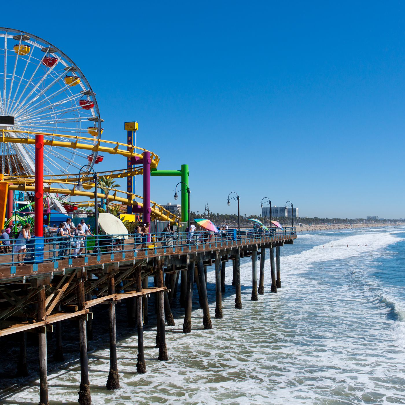 Santa Monica Pier Is La County S Most