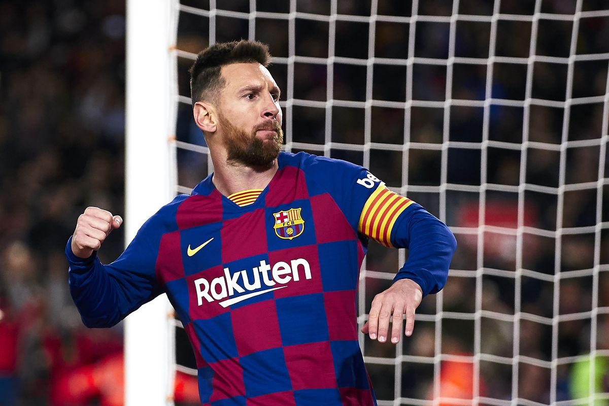 Football is as easy as one, two, three for Lionel Messi