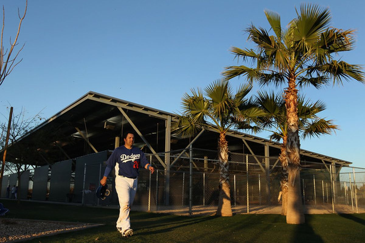 Rod Barajas might be in the twilight of his career, but the Dodgers are hoping the local boy has one more season in the sun.