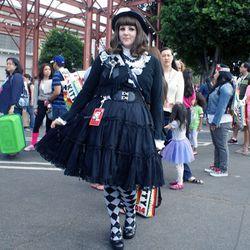 Goth Lolita Alexandra Bowersox.