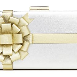 Steal the Spotlight Gift Box Clutch ($358)