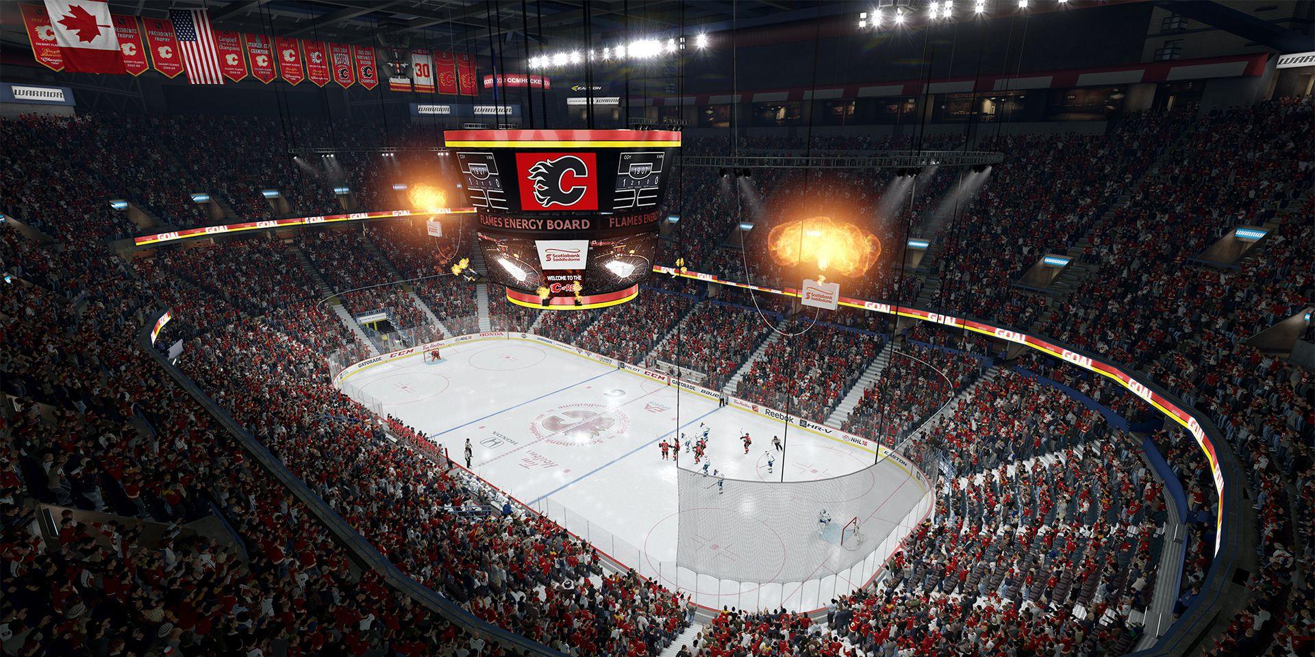 NHL 16 - CGY arena screenshot 1920