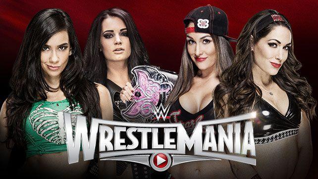 Wrestlemania 31 divas match
