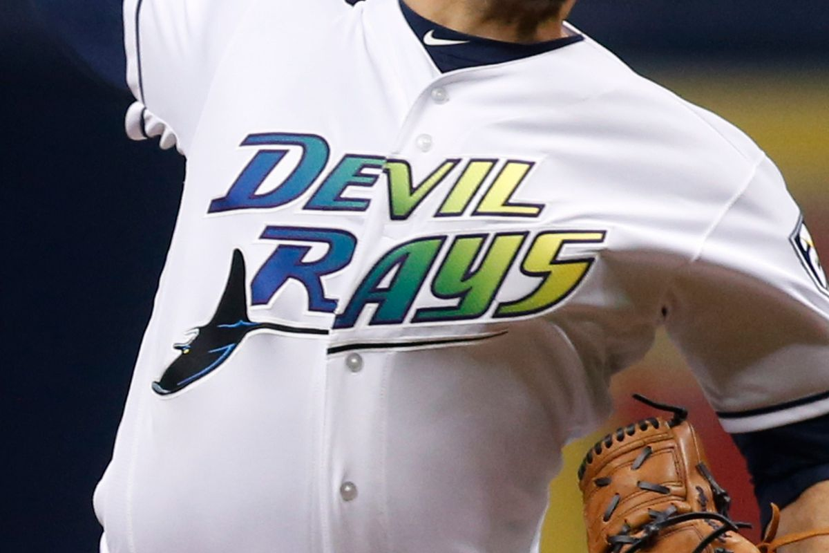 new styles a4b10 a2e29 Tampa Bay Rays history: The legacy of the Devil Rays jersey ...