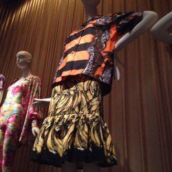 Miuccia Prada's reinterpretation of Josephine Baker's banana skirt, spring 2011