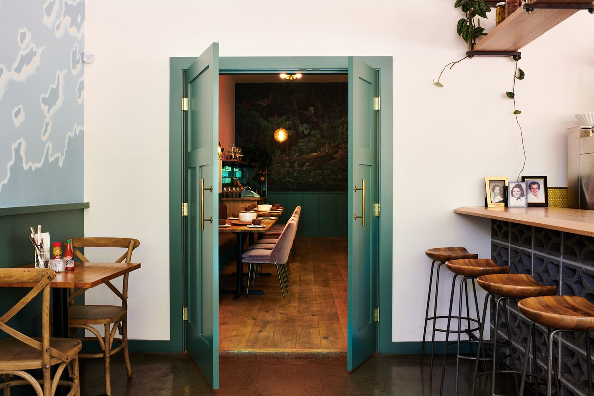 Maya Lovelace's Mae will only be available for tasting menu dinners, which means the room will be shut off from Yonder during the day.