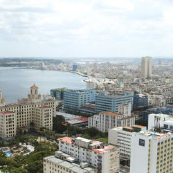 """The """"Smile of Havanna"""" is a scenic site in Havana."""