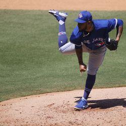Alek Manoah, Blue Jays starting pitcher on Wednesday
