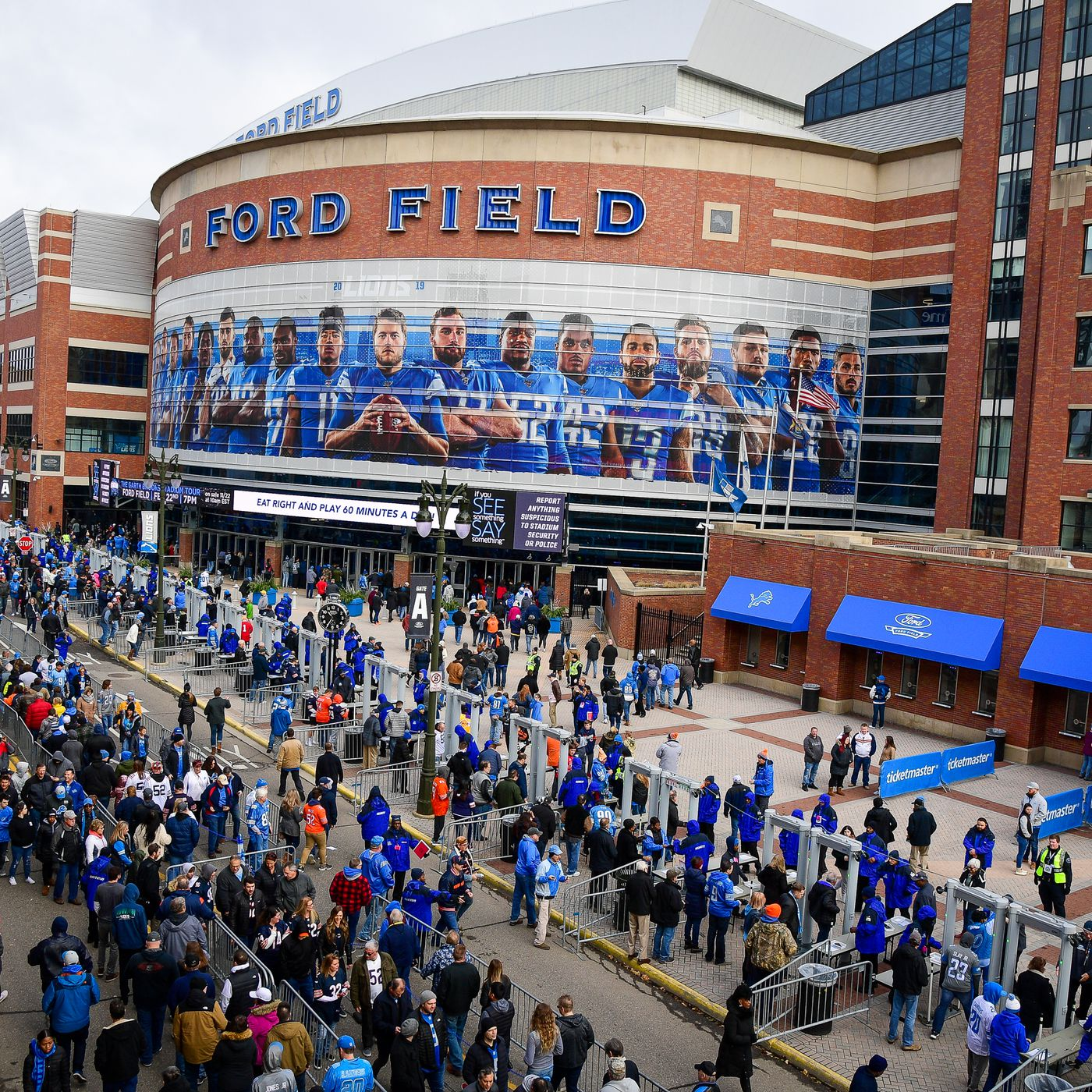 Detroit Lions Announce Ford Field Training Camp Practice Date Time Pride Of Detroit