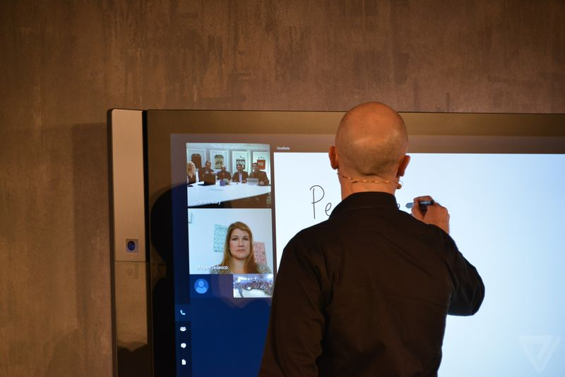 Microsoft Surface Hub in photos