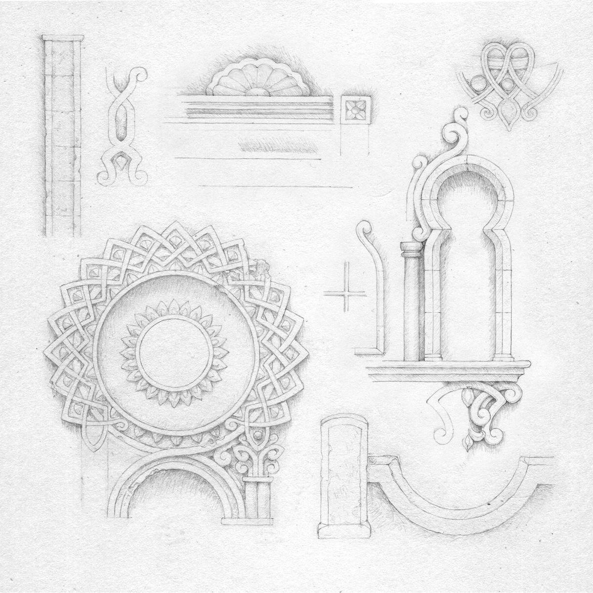Gorogoa early sketches
