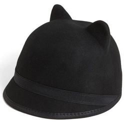 """<strong>BCBG Max Azria</strong> Kitty Cat Baseball Cap, <a href=""""http://shop.nordstrom.com/s/bcbgmaxazria-kitty-cat-baseball-cap/3546054?origin=keywordsearch-personalizedsort&contextualcategoryid=2375500&fashionColor=Merlot&resultback=0&cm_sp=personalized"""