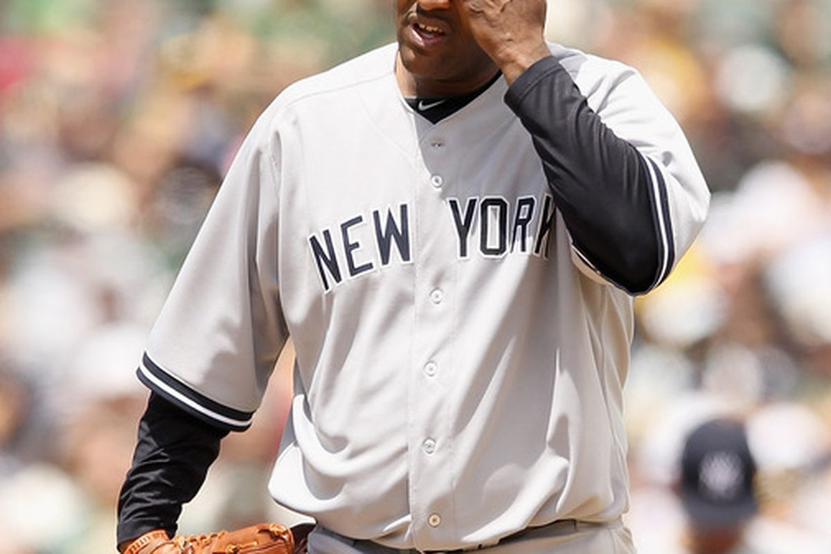 It was a rough week for CC Sabathia and a host of other pitchers. (Photo by Ezra Shaw/Getty Images)