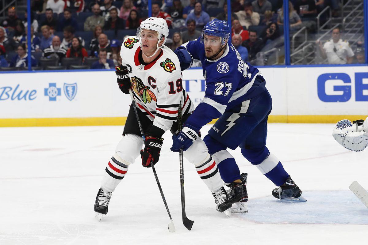 NHL: NOV 23 Blackhawks at Lightning